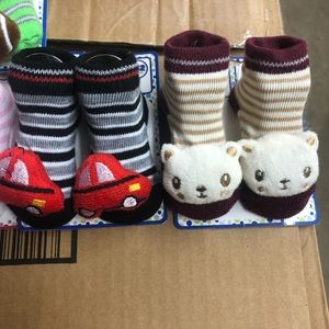 zak & zoey Other - 110 Pairs of 3D Baby Socks 0-12 Months
